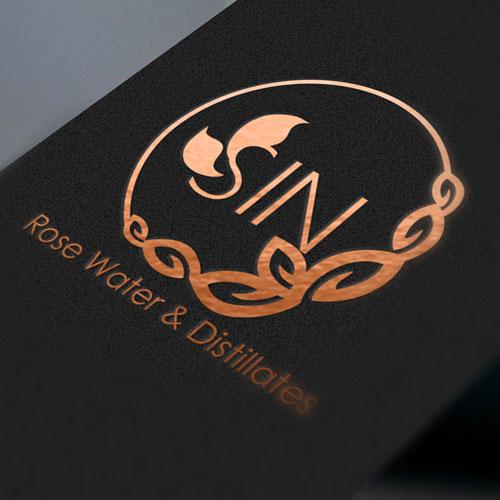 طراحی لوگو با استفاده از رنگ مشکی